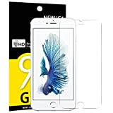 NEW'C Verre Trempé pour iPhone 6 Plus, 6S Plus, Film Protection écran - Anti Rayures - sans Bulles d'air -Ultra Résistant (0,33mm HD Ultra Transparent) Dureté 9H Glass