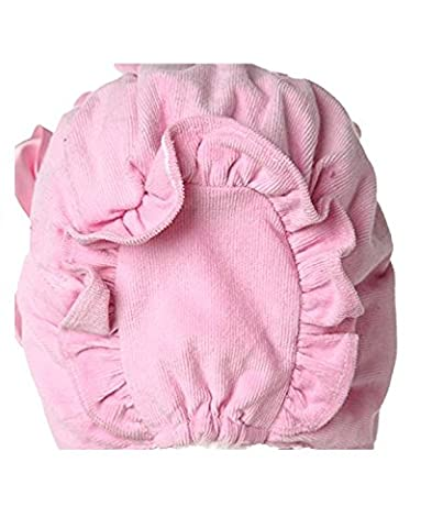 TFXWERWS Novelty Lovely Handmade Cold Weather Baby Royal Bonnet Hat (Pink)