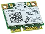 Intel 3160. HMWG. R Dual Band Wireless AC + Bluetooth Mini PCIe Karte unterstützt 2,4und 5,8GHz B/G/N/AC Bands mit Befestigungsschrauben