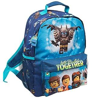 Mochila Escolar Niño Lego Movie Batman Cartera Escolar