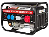 Fullex Stromerzeuger FLS-8500X mit 3.5 kW Dauerleistung und Transferswitch umschalten zwichen 230 Volt und 380 Volt 2 in 1 NEUHEIT.....