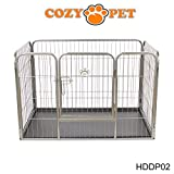 Heavy Duty Puppy Playpen by Cozy Pet - Medium - Rabbit Run Enclosure