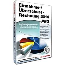Einnahme-/Überschussrechnung 2014 Pro