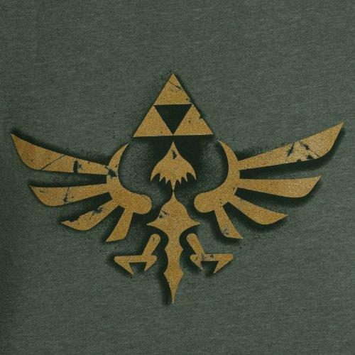 Nintendo Herren T-Shirt Nintendo - Vintage Zelda Grün