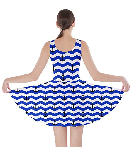 CowCow - Robe - Femme Bleu Bleu marine azul real