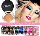 Itay Mineral 9pilas Shimmer mejor 4marrón ojos + ojo imprimación + cala Mineral dispensador cepillo 77120