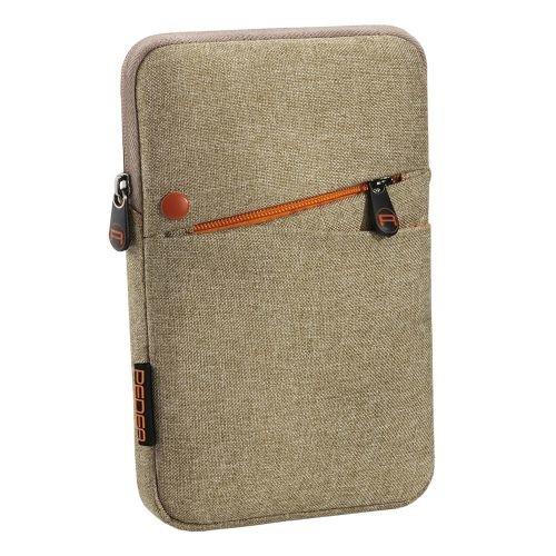 PEDEA Tablet PC Tasche 'Fashion' für 7 Zoll (17,8cm) Tablet Schutzhülle Tasche Etui Case mit Zubehörfach, beige