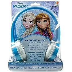 TECH2GO-Casque Audio pour Enfants, FR-V126, Bleu, Taille Unique