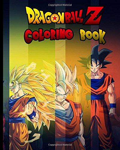 PDF Descargar Dragon Ball Z: Coloring Book for Kids and