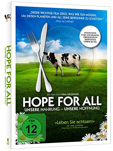 Hope for All. Unsere Nahrung - Unsere Hoffnung [Blu-ray] (PLASTIC-FREE Verpackung)