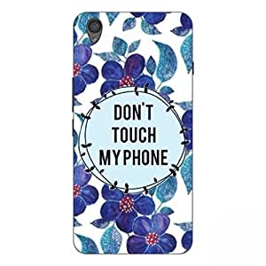 Joe Printed Hard Back Case For ONE PLUS X Mobile (multicolor)
