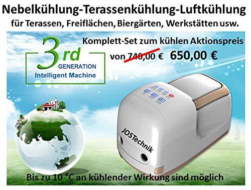 Nebelkühlsystem Fog Machine - 70 bar! Bester Preis seiner ()