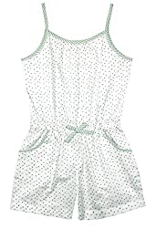 ShopperTree Girls Jumpsuit (Green, 11-12 Years)