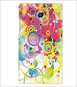 PRINTSWAG FLOWERS Designer Back Cover Case for SONY XPERIA SP