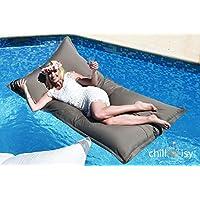 Premium Pool cuscino chillisy® | Midi (190x 100cm) | l' originale dal 2010| Made in Germany