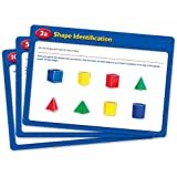Ressources -ducatives LER0991 pliantes G-om-triques cartes d'activit-