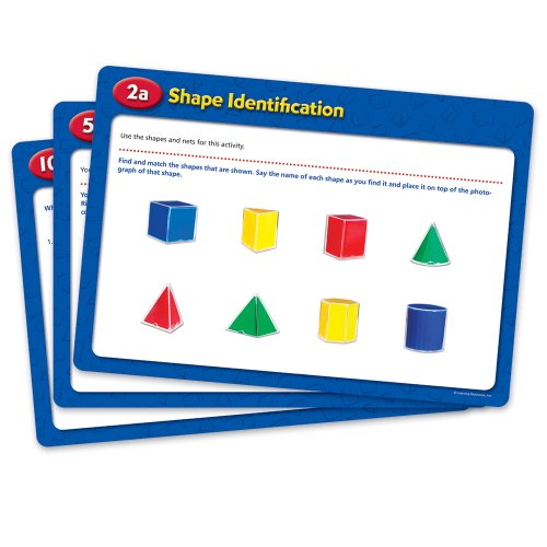 Lernmittel LER0991 Folding Geometrische Formen Activity Cards (Resources Learning Activity Cards)