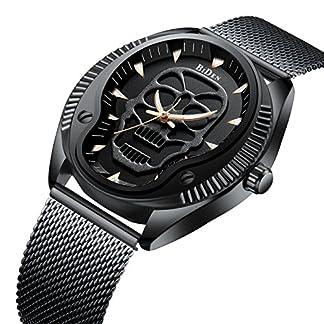 Uhren-fr-Mnner-Herren-schwarz-Ultra-Dnn-Armbanduhr-Minimalist-Fashion-Luxus-Handgelenk-Uhren-fr-Mnner-Business-Kleid-Casual-Wasserdicht-Quarz-Armbanduhr-fr-Mann-mit-Edelstahl-schwarz-Mesh