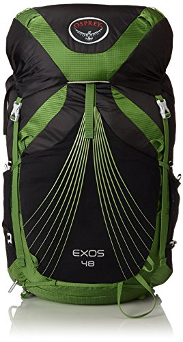 Osprey - Exos 48, color basalt black, talla 51 Liters-L