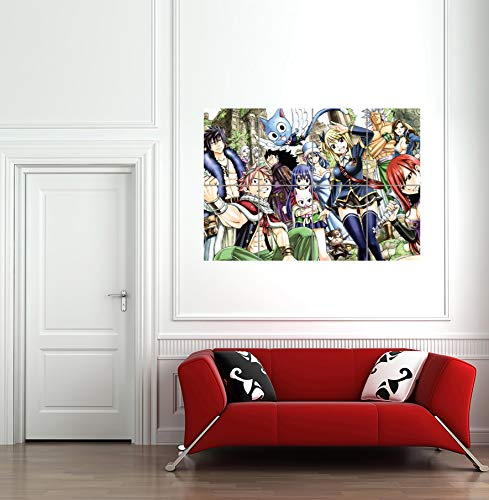 FAIRY TAIL ANIME MANGA GIANT ART PRINT PICTURE POSTER G1117