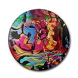 VMJUKOP Runde Keramik Cup Mat-Abstract World Untersetzer Halter Kaffee Tasse Tischset