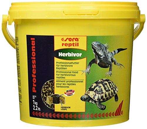 sera 01814 reptil Professional Herbivor 3800 ml - Pflanzen fressende Reptilien ernähren wie die Profis