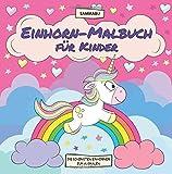 Einhorn-Malbuch für Kinder: Die schönsten und niedlichsten Einhörner zum Ausmalen - Sammabu Edition