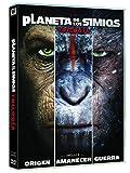 Trilogía Planeta De Los Simios [DVD]