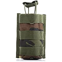 Zhuhaimei,Interphone Pouch Molle Gadget Pocket Mini Belt Pack para caminatas de camping