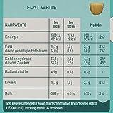 NESCAFÉ Dolce Gusto Flat White | 48 Kaffeekapseln | Arabica und Robusta Bohnen | Cremig-Milchiger Genuss | Kaffeekreation  | Coffee-Shop Trend | Aromaversiegelte Kapseln | 3er Pack (3 x 16 Kapseln)
