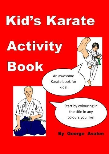 Kid's Karate Activity Book by Avalon, George (2014) Paperback