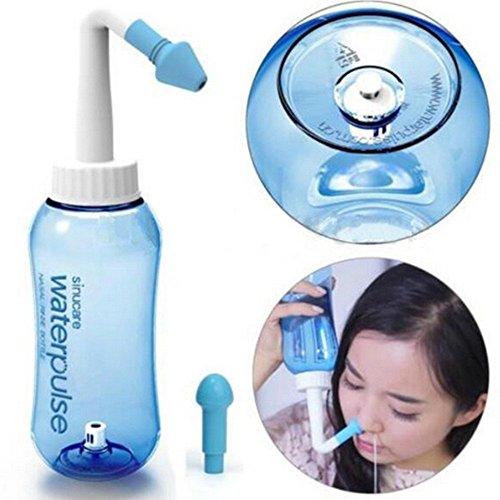 Lovetree Yoga nasenspüllösung für allergische Rhinitis-Behandlung und Nasenpflege, 300ml (Kochsalzlösung Nasenspülung)