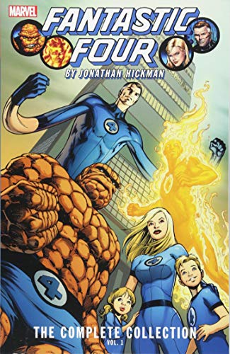 Fantastic Four By Jonathan Hickman: The Complete Collection Vol. 1 por Jonathan Hickman