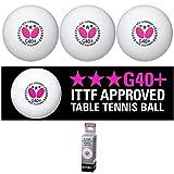 Butterfly G40+ 3 Star Table Tennis Balls