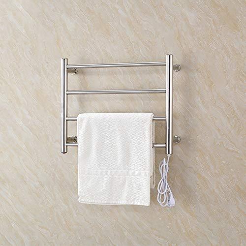 rentianleMJJ Handtuchhalter der Laden hat auch: Badaccessoires, Handtuchhaken, Handtuchring, Handtuchhalter aus Edelstahl,304 Edelstahl Rundrohr Badheizkörper Trockentuch Elektrischer Handtuchhalter