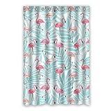 Dalliy Brauch flamingo Wasserdicht Polyester Shower Curtain Duschvorhang 120cm x 183cm