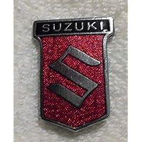 Suzuki - Schriftzug und Logo - Wappen - Ansteck Brosche