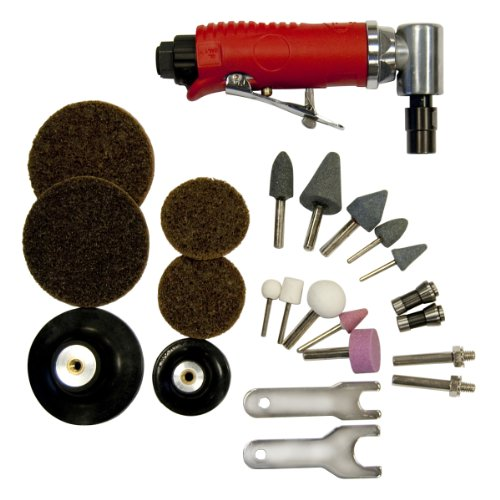 Angle Grinder Kit (OEMTOOLS  25777 Right Angle Air Die Grinder Kit)