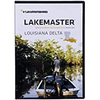 Humminbird LakeMaster Aerial Satellite View - Louisiana Delta