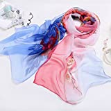 girlove Clearance Sale ! Women Ladies Chiffon Floral Scarf Soft Wrap Long Shawl