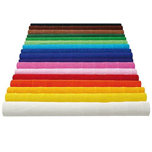 Makro Paper FCP-GN/600329 - Krepppapier, 10 Rollen, 50 x 250 cm, grün.