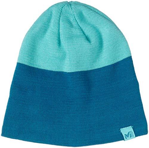 MILLET Freeride Beanie – Bonnet Unisexe Adulte Multicolore (Cosmic Blue/Turquoise)