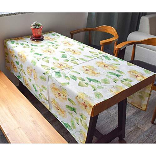 Candys house foglie di piante di casa tovaglie di lino di cotone da salotto tovaglie da salotto tovaglie quadrate (color : 03, size : 140 * 140cm)