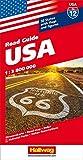 Hallwag USA Road Guide, No.12, USA (Hallwag Strassenkarten) - Hallwag