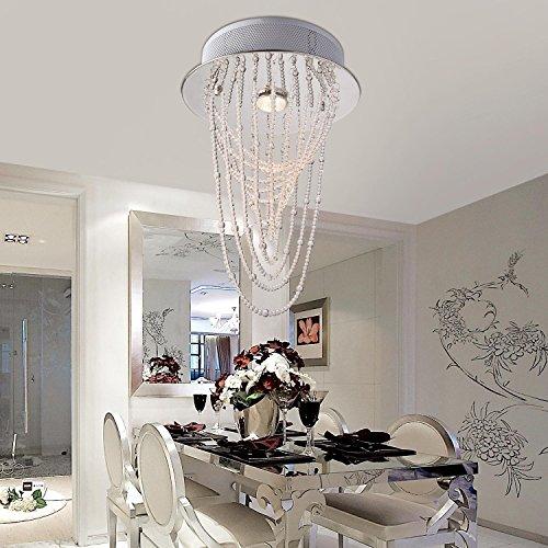 lampadario di cristallo moderno semplice ed elegante lampada un filo