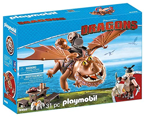 PLAYMOBIL DreamWorks Dragons Barrilete y Patapez