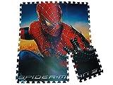 Unbekannt PUZZLETEPPICH Spiderman 1 qm PUZZLE TEPPICH SPIELTEPPICH PUZZLEMATTE MOOSGUMMI