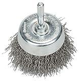 BOSCH Topfbürste, Edelstahl, gewellter Draht, 0,3 mm, 60 mm, 4500 U/min, 2608622118