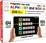 Play Poco Magnetic Fun with Alphabet and Words - with 64 Picture Magnets