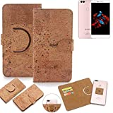 K-S-Trade 360° Cover cork Case for Bluboo Dual |
